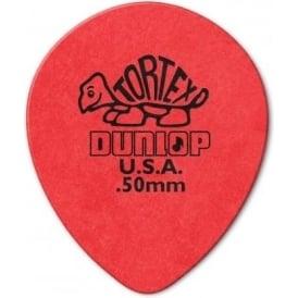 Jim Dunlop Tortex Teardrop .50mm (6-Pack) - Red