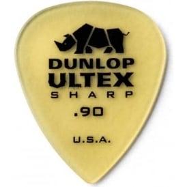 Jim Dunlop Ultex Sharp .90mm Guitar Picks 6-Pack 433P90