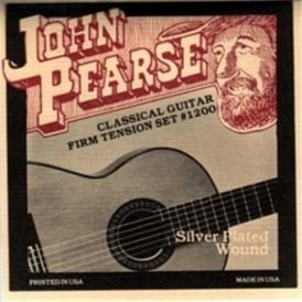 John Pearse 1200 Classical Guitar Strings Firm Tension