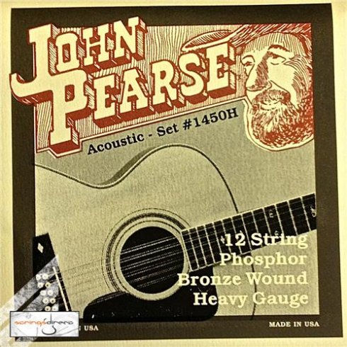 1450H Phosphor Bronze Acoustic Strings 13-56 12-String