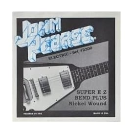 John Pearse 2300 Pure Nickel Wound Super EZ Bends Electric Strings 8-38