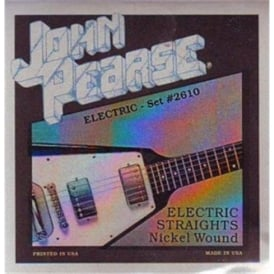 John Pearse 2610 Nickel Wound Electric Strings 11-50 Straights