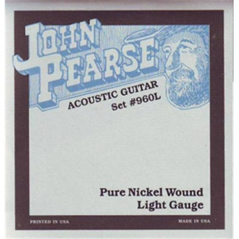 960L Nickel Acoustic-Electric Strings 12-54 Light