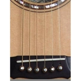 John Pearse Bridge Pin Set Bell Brass King for Acoustic Guitar