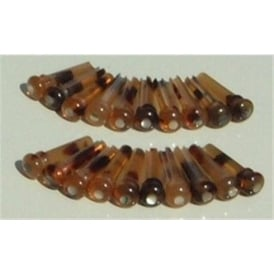 John Pearse Faux Tortoise Shell Acoustic Guitar Bridge Pin Set of 7