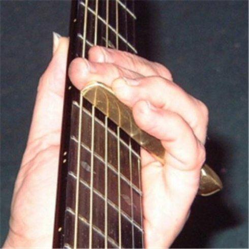 John Pearse The Edge Brass Guitar Slide