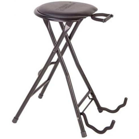 Guitar Combination instrument stand and stool