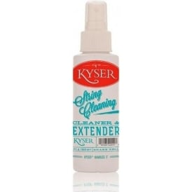 Kyser Guitar String Cleaner & Lubricant Pump Spray 4oz Bottle