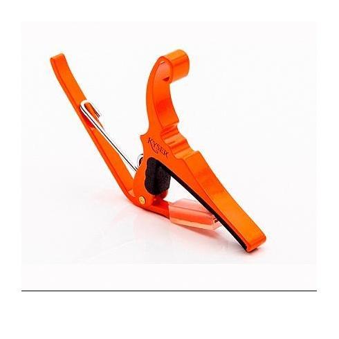 Kyser KG6 Quick Change Orange Trigger Guitar Capo