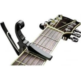Kyser Trigger Drop-D Black Guitar Capo for Drop D Tunings