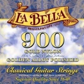La Bella Golden Superior Medium Tension Classical Guitar Strings