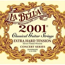 LaBella 2001 Classical Nylon Guitar Strings Extra Hard Tension