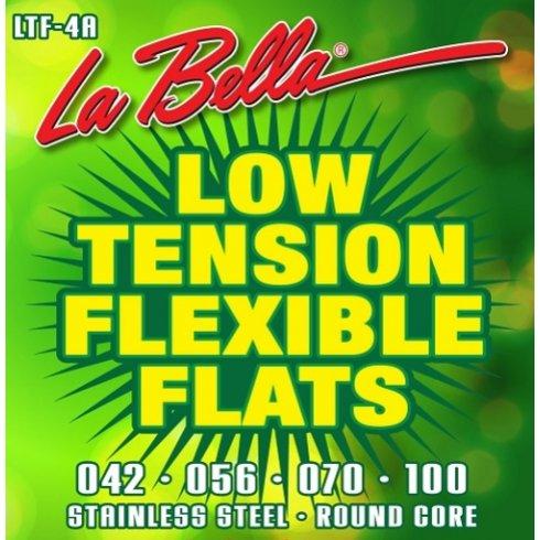 Low Tension Bass Guitar Strings : labella 4 string low tension flexible flats 42 100 bass guitar strings ~ Hamham.info Haus und Dekorationen