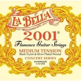 LaBella Flamenco Guitar Strings Medium Tension