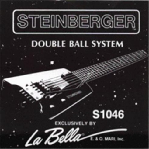 LaBella Hard Stainless Steel Steinberger Double Ball End 10-46 Regular