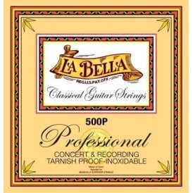 LaBella 500P Professional and Recording Classical Guitar Strings