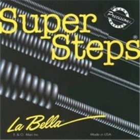 LaBella SuperSteps 4-String Stainless Steel 45-105 Bass Strings