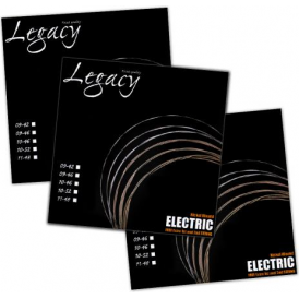 Legacy Pro-Tone Nickel Wound Electric Guitar Strings 10-46 Bulk Value Pack of 3