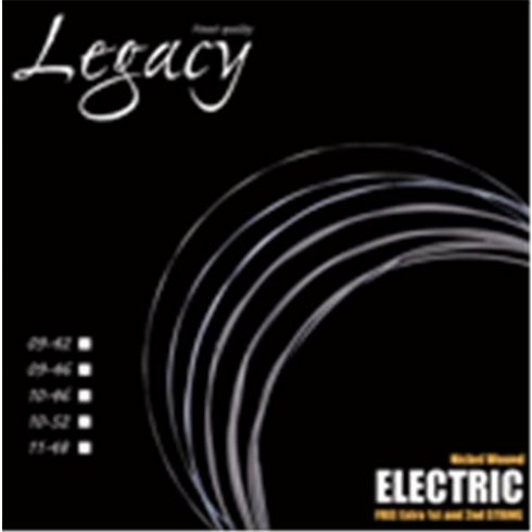 legacy pro tone nickel wound electric guitar strings 10 46. Black Bedroom Furniture Sets. Home Design Ideas