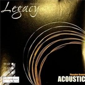 Legacy Tru-Tone Phosphor Bronze Acoustic Guitar Strings 10-50