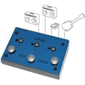 Lehle 1@3 SGoS Amp Switcher Guitar Pedal