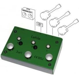 Lehle 3@1 Amp Switcher Guitar Pedal