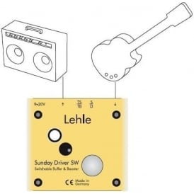 Lehle Sunday Driver SW Amp Switcher Guitar Pedal