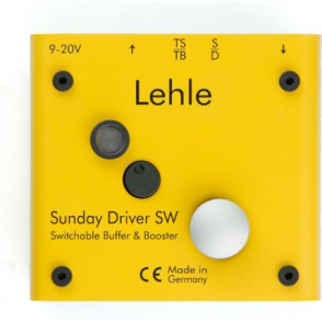Lehle Sunday Driver SW Switchable Buffer & Boost Pedal