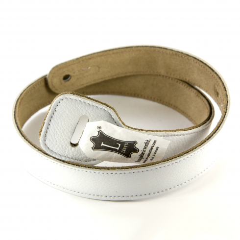 "Levy's Leathers Levy's MMGXL 2.5"" XL White Adjustment Extension for MSS1/MSS2 Guitar Straps"