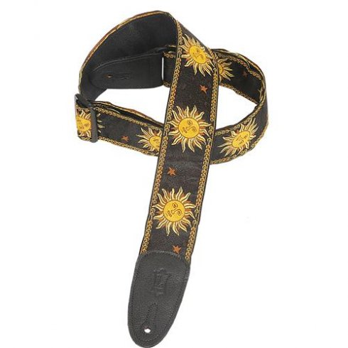 Levy's Leathers Levy's MPJG-SUN-BLK Jacquard Sun Strap in Black