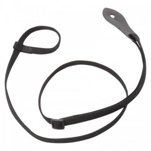 Levy's Leathers M19C-BLK Black Cotton Mandolin Strap