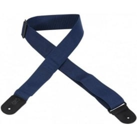 "Levys Leathers M8POLY 2"" Wide Polypropylene Navy Blue Guitar Strap"