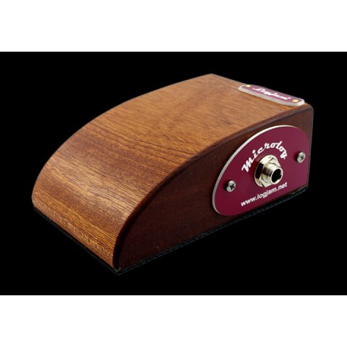 Logjam Microlog Travelog Foot Stomp Box