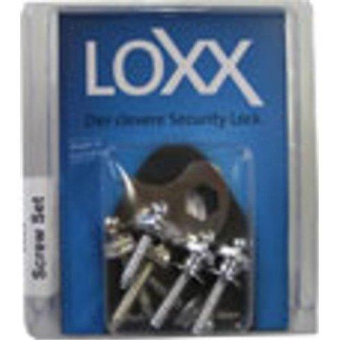 LOXX Chrome Screw Set for Loxx Straplocks