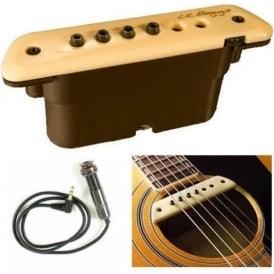 LR Baggs M1A Active Soundhole Magnetic Acoustic Guitar Pickup Kit