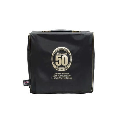 Amp Cover, 50th Anniversary, Nylon w/ Gold Piping & Logo for 1 Watt Combo