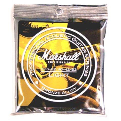 Marshall Bronze Alloy 11-52 Light Acoustic Guitar Strings
