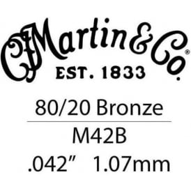 Martin .042 Bronze Wound Single String