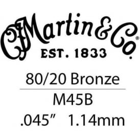 Martin .045 Bronze Wound Single String