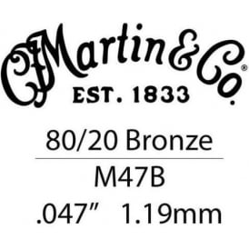 Martin .047 Bronze Wound Acoustic Guitar Single String
