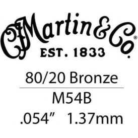 Martin .054 Bronze Wound Single String