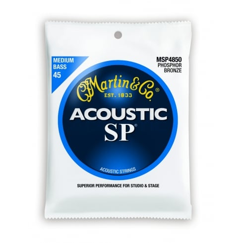 4-String Studio Performance MSP4850 Phosphor Bronze 45-105 Acoustic Bass Guitar Strings