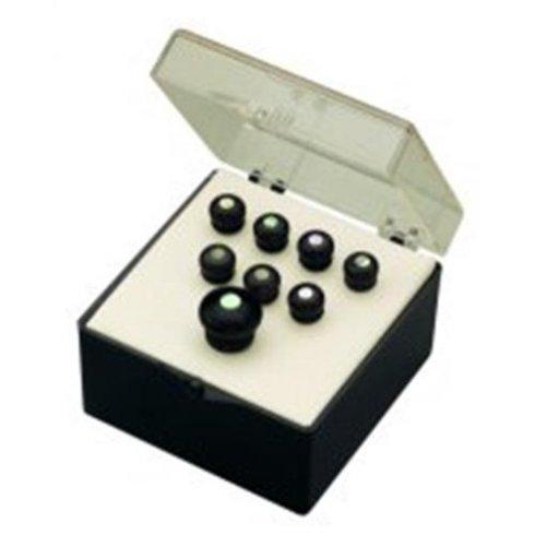 Martin Bridge & End Pin Set Black w/ Pearl Inlay