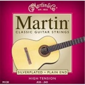 Martin M120 Classical Silverplated High Tension Guitar Strings