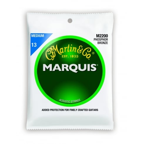 Marquis M2200 Phosphor Bronze Acoustic Guitar Strings 13-56 Medium