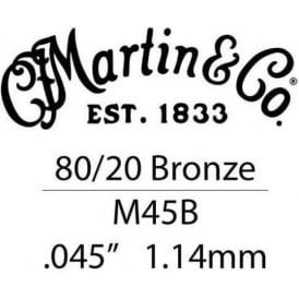 Martin .045 Bronze Wound Single String