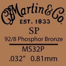 Martin Studio Performance .032 Phosphor Bronze Single String