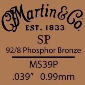 Martin Studio Performance .039 Phosphor Bronze Single String