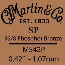 Martin Studio Performance .042 Phosphor Bronze Single String