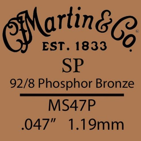 Studio Performance .047 Phosphor Bronze Single String